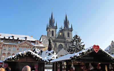 🚌 Рождественская Прага…!