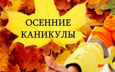 🚌 Ученикам - во время осенних каникул !